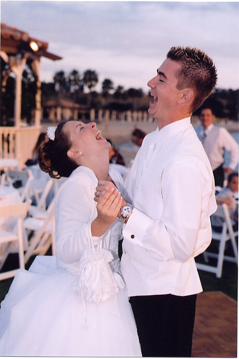Tina & Tom Glidewell Wedding June 21, 2003, Newport Dunes, Newport Beach, Orange County